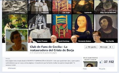 Páginas de fans en Facebook