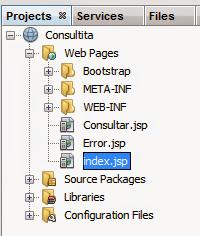 Uso de radios en consultas jsp mysql sistemas ddm for Consul bootstrap