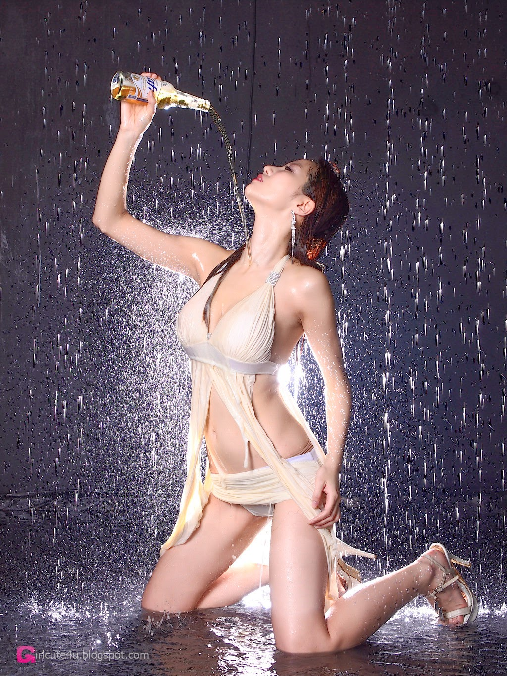 2 Han Min Young - Dry Set, Wet Set - very cute asian girl-girlcute4u.blogspot.com