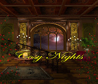 Cosy Nights digital fantasy backgrounds
