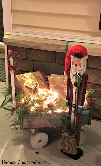 diy Christmas decor from thrifted, reused and recycled items