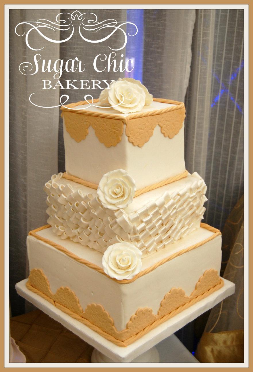 Sugar Chic Bakery: Wedding cakes