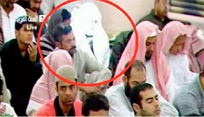 Foto Malaikat Yang Tertangkap Kamera di Masjid Nabawi