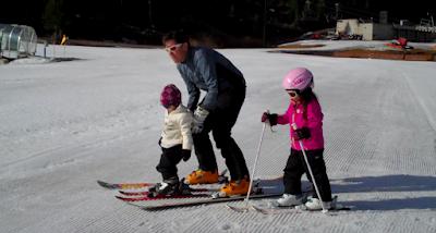 Bill Cushard Skiing Squaw Valley