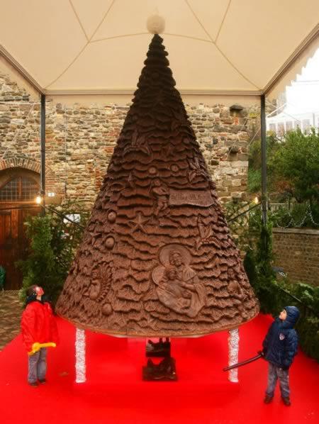 2 Arbol de navidad de chocolate-Francia