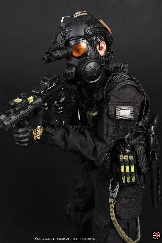 Preview Soldier Story 1 6 Scale Fbi Cirg Critical