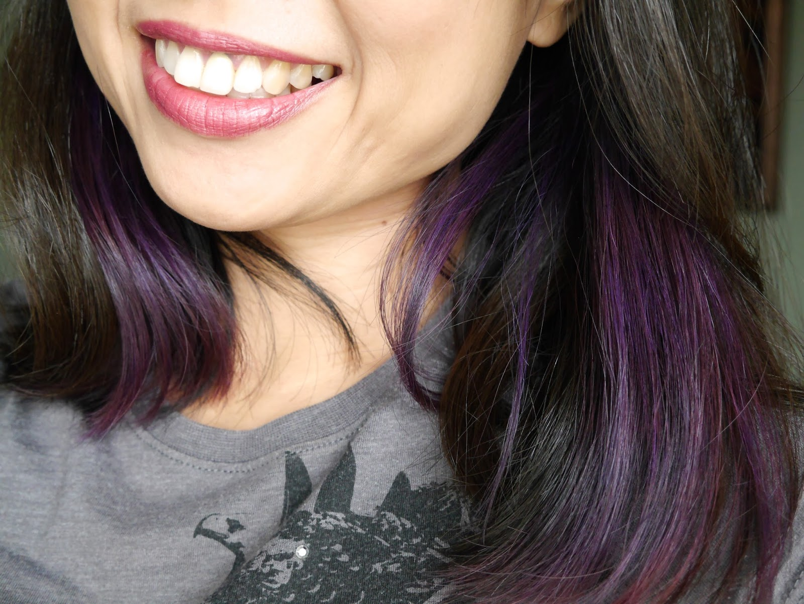 Review Splat Rebellious Colors Purple Desire Reflection Of Sanity