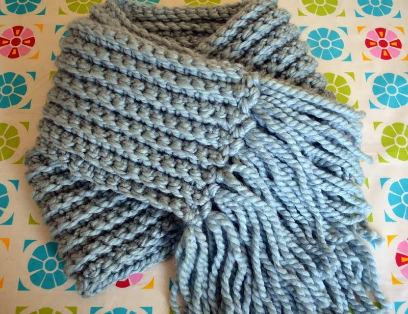 Crochet Bulky Scarf Pattern
