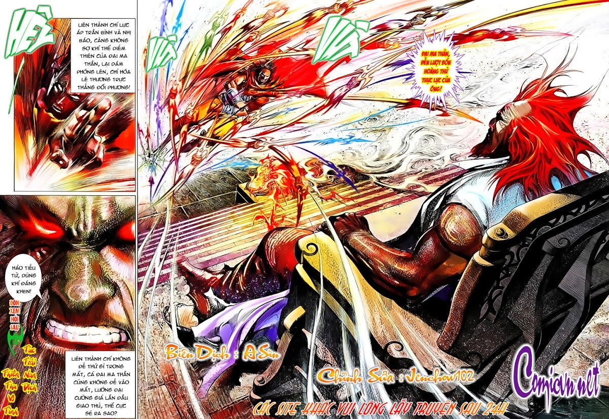Phong Vân chap 642 Trang 30 - Mangak.info