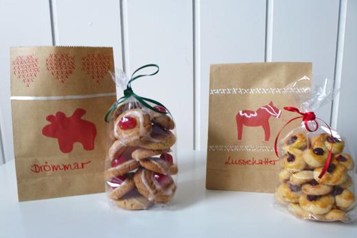 Geschenkverpackung Verpackung DIY Plätzchen Kekse Geschenke aus der Küche Stempel Kraftpapier Papiertüte Weihnachten Anleitung Blog