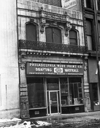 Philaphilia fill this front philadelphia blueprint company 63 historical commission pic even then the facade appeared just as sick malvernweather Choice Image