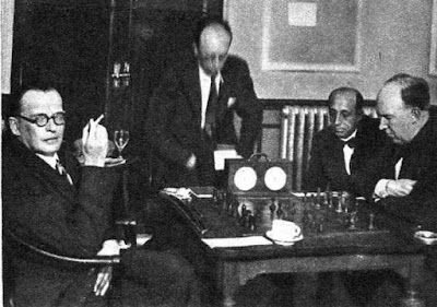 Match de ajedrez Golmayo vs. Alekhine, Madrid 1935