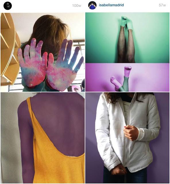 Inspirações pele colorida