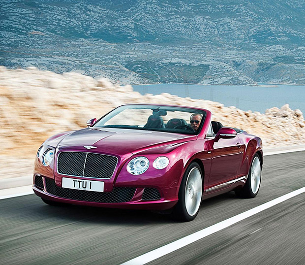 Bentley Continental Convertible: Grease N Gasoline