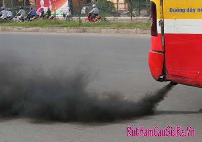 Không khí ô nhiễm làm giảm khả năng tư duy