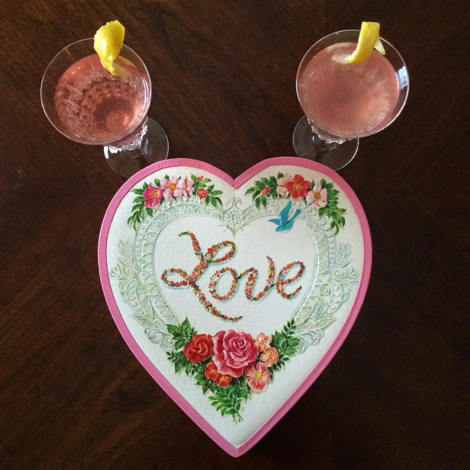 French American 75, Cocktail, Recipe, Valentine's Day