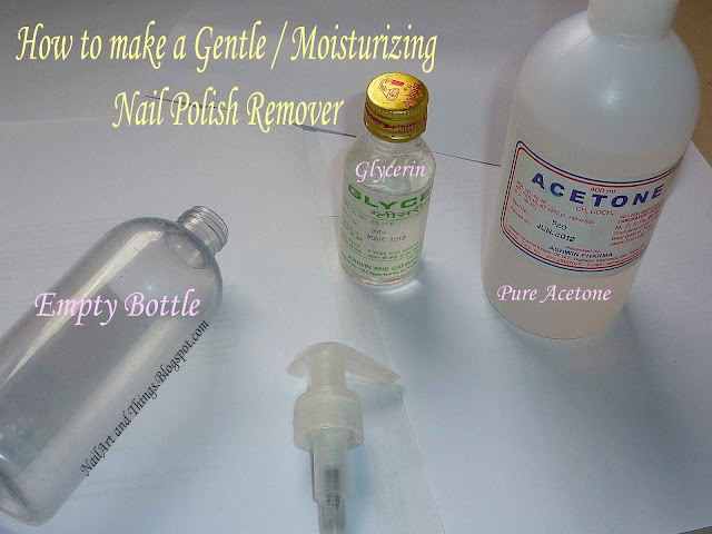 Diy Make Your Own Gentle Remover Nail Care Nail Art