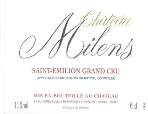Chteau Milens - Saint-Emilion Grand Cru