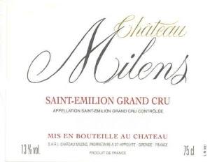 Château Milens - Saint-Emilion Grand Cru