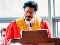9 Kata Bijak Shahrukh Khan Saat Terima Doktor Honoris Causa
