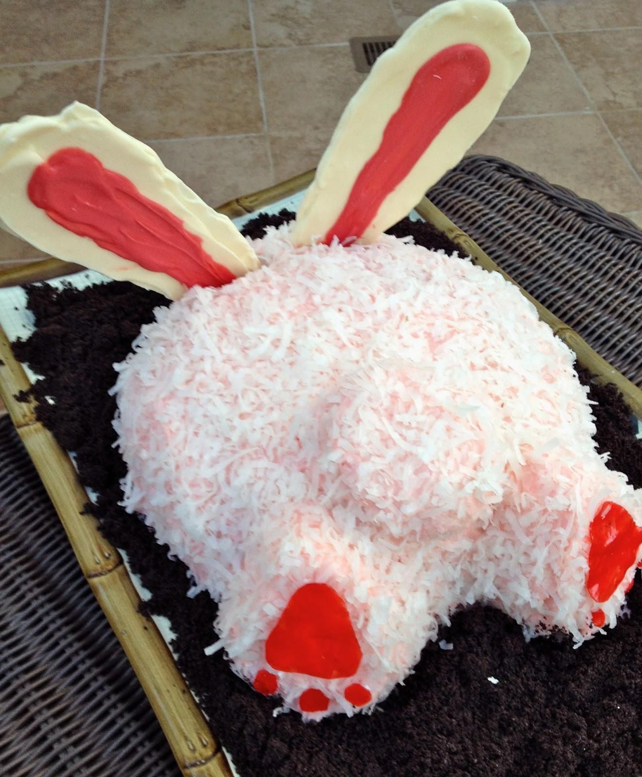 Beurrista Bunny Butt Cake