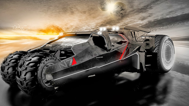 Mass Effect N7 Car Game
