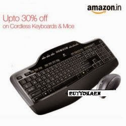 Amazon: Buy Keyboards & Mouses with upto 75% off from Rs.125