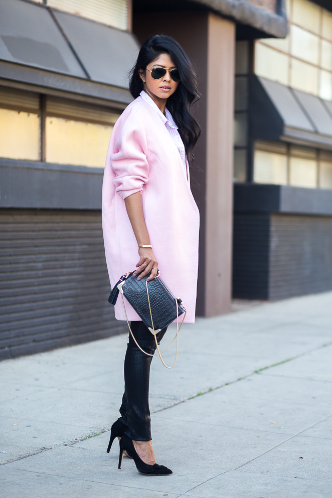 PINK COCOON COAT | Walk In Wonderland | Bloglovin&39