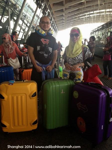 Melancong percuma ke Shanghai dengan Awesomazing team sebelum check in