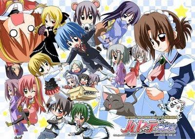 Hayate no gotoku manga hiatus 2012