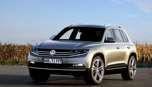 car on Volkswagen Tiguan 2014