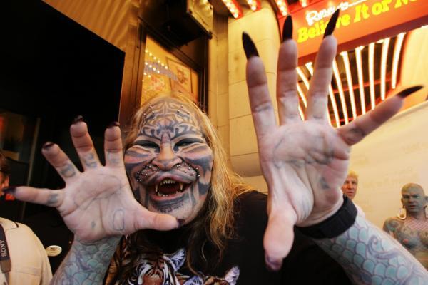 More Images of Cat Man Dennis Avner