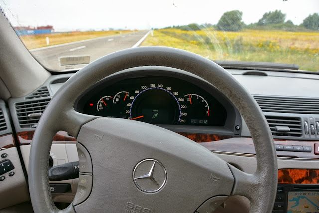 Mercedes S320 CDI Dashboard