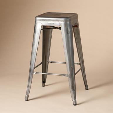 spring hill farm tolix stools. Black Bedroom Furniture Sets. Home Design Ideas