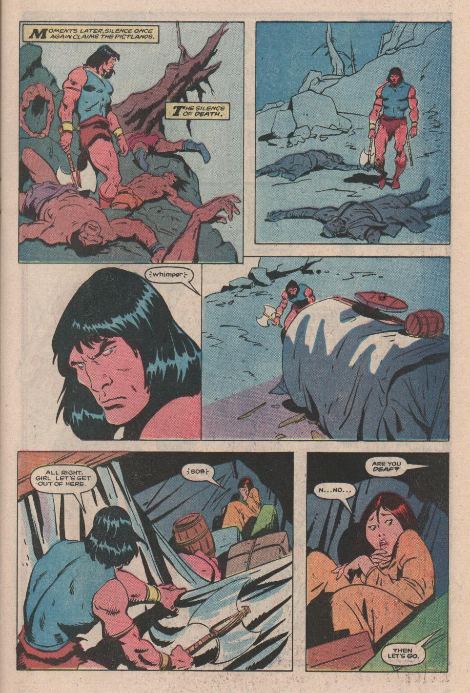 Conan the Barbarian (1970) Issue #172 #184 - English 8
