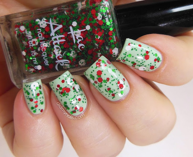 Lac Attack Holidays In Hogsmeade swatch