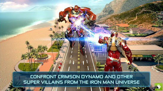 IRON MAN 3 V1.0.0 OFFICIAL ANDROID GAME