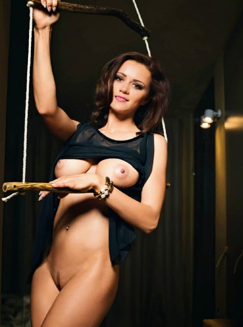 beautiful sexy Manja Dobrilovic nude for Playboy Slovenia pic 3
