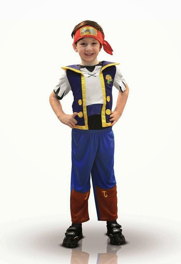 DISFRACES - DISNEY Jake y los Piratas de Nunca Jamás Disfraz | Infantil | Niño | Rubie's
