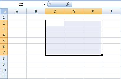Get Set SQL: Import data to Excel sheet's specific region