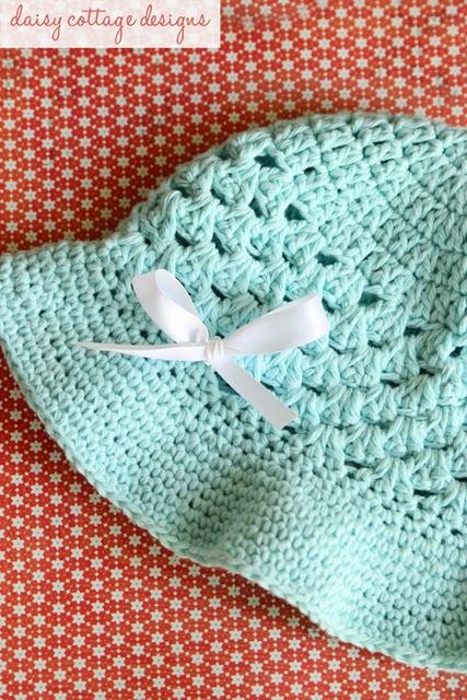 free crochet pattern summer sun hat