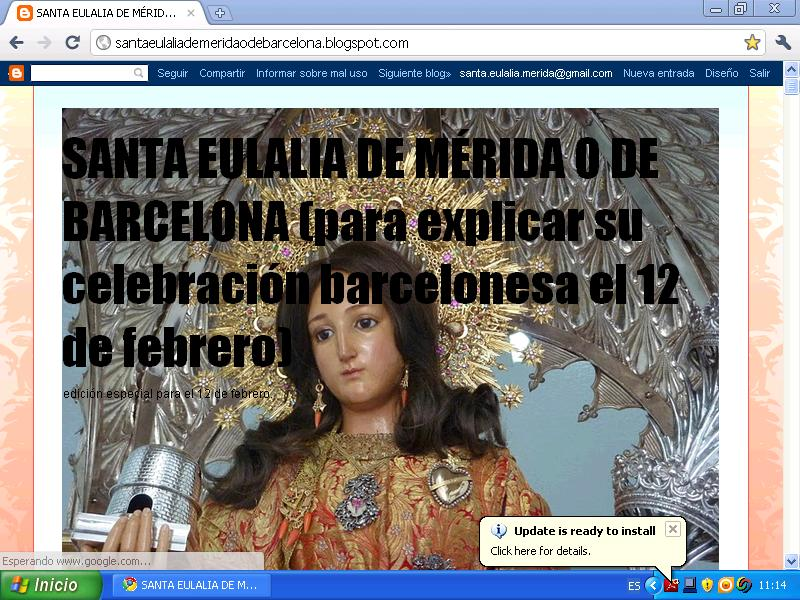 santa eulalia barcelona