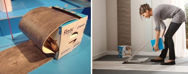 Todo para tu hogar reformas sin obras for Vinilo adhesivo suelo bano