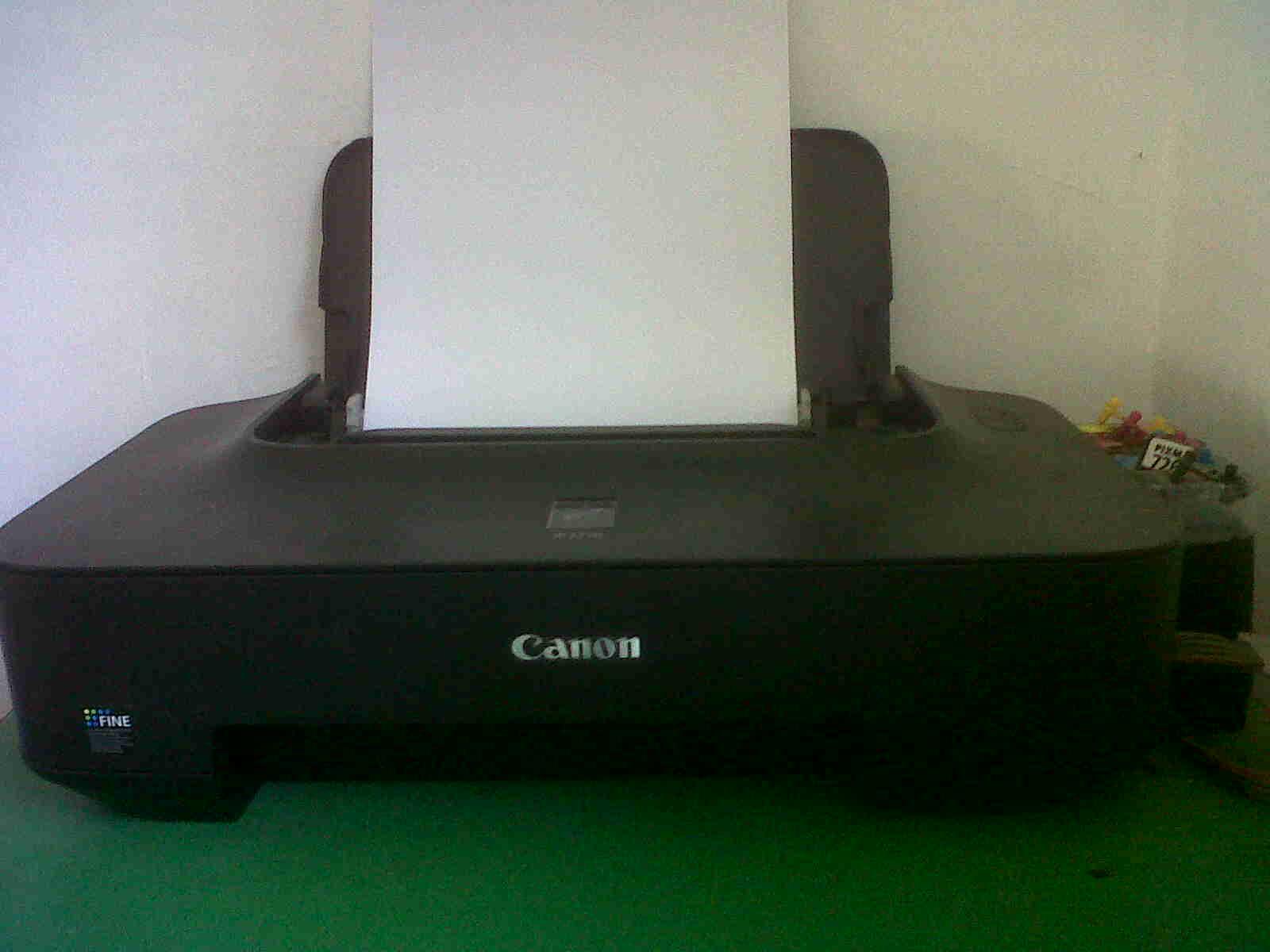 Cara Menghidupkan Printer Canon iP2770