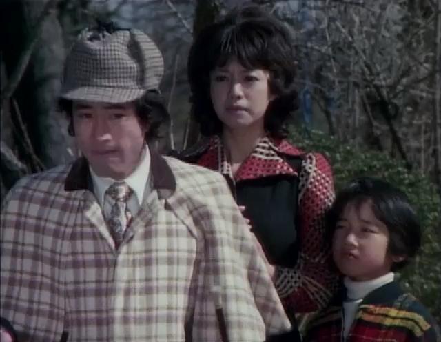 Mitsuko, Masaru & Hanpei - Kikaider's human friends