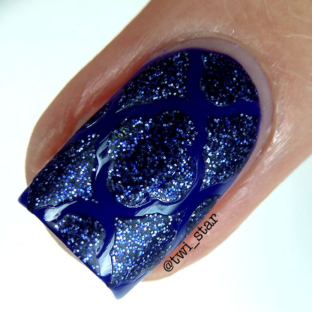 Vinyl It Up nail stencils OPI DS Lapis swatch review