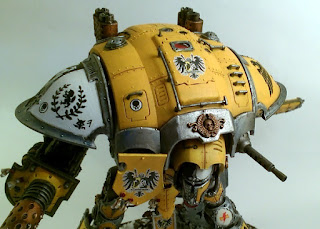 40k Imperial Knight Errant front