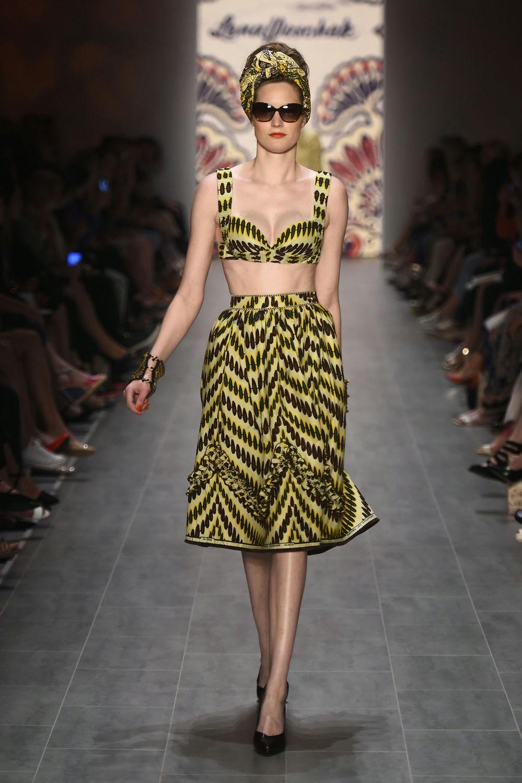 Fashion show lena hoschek spring summer 2015 Good style fashion show cleveland 2014