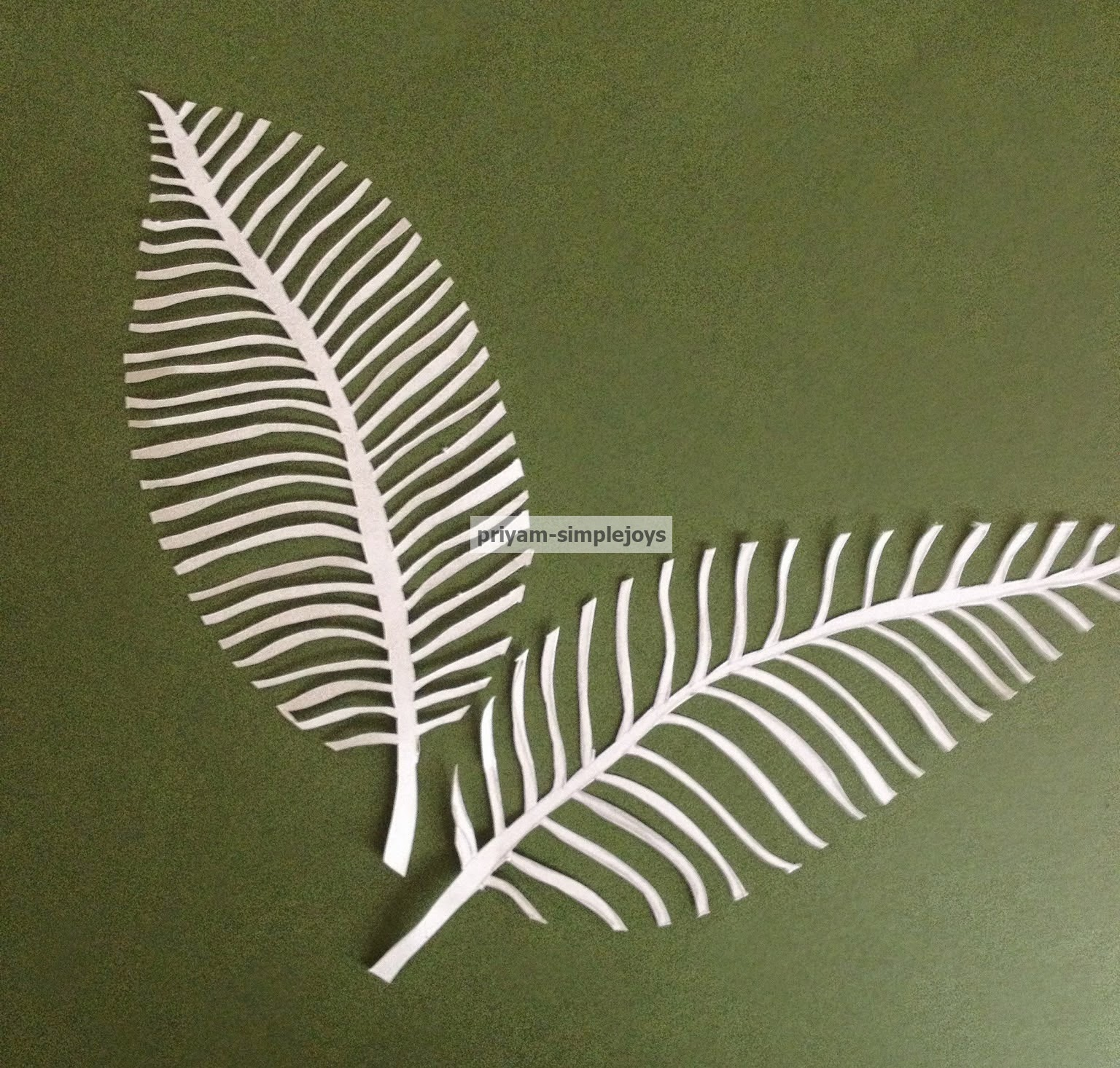 Wall Decoration By Paper Cutting : Simplejoys paper cut art
