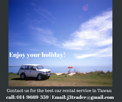 Rent A Car in Tawau this holiday